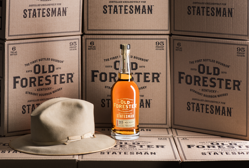 Old Forester launches 'Statesman' bourbon for new Kingsman film