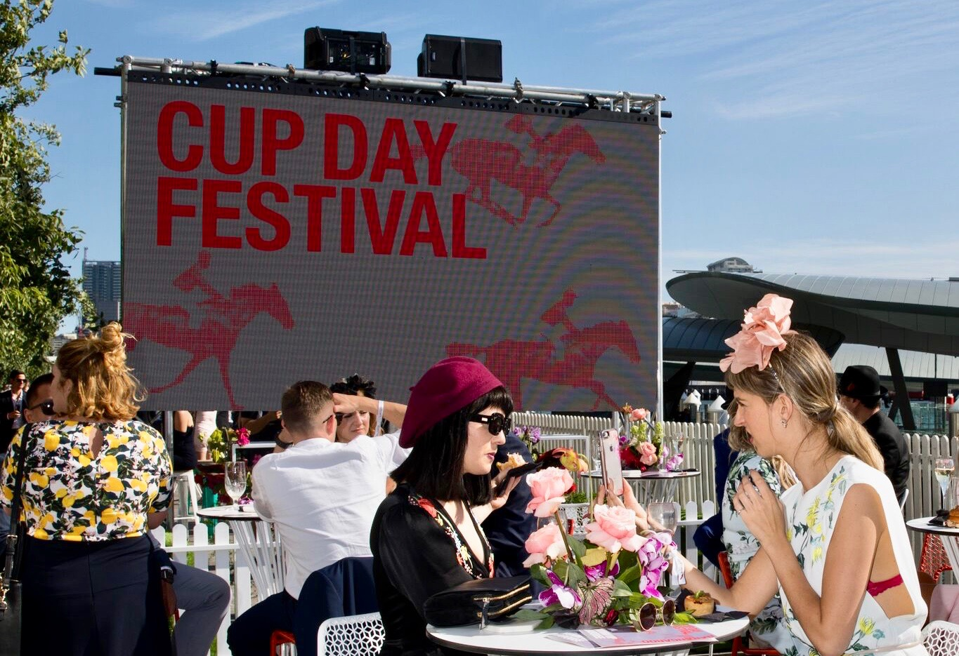 Cup Day Festival at Barangaroo