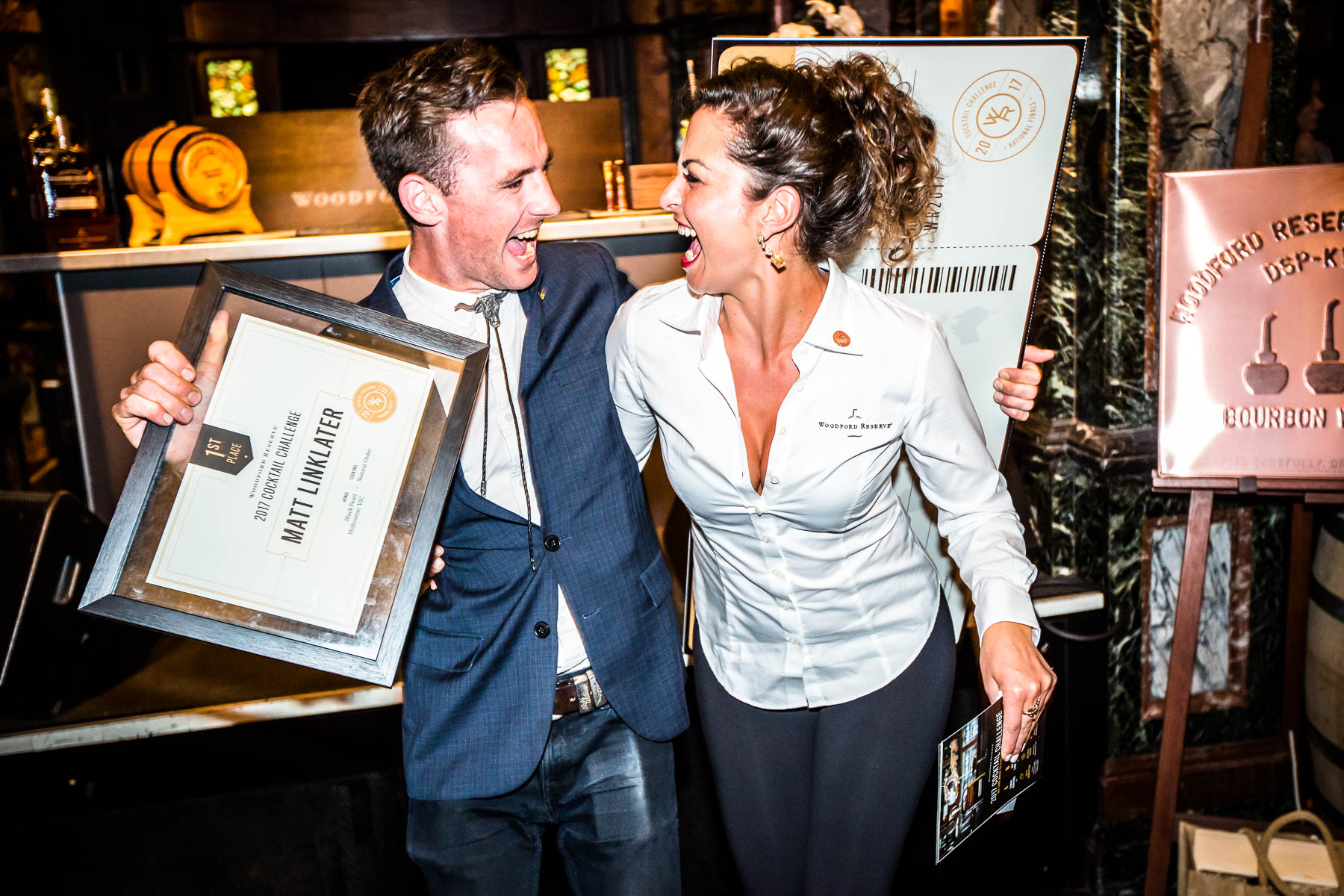 Woodford Reserve Australia Cocktail Competition champion headed to New York in high spirits