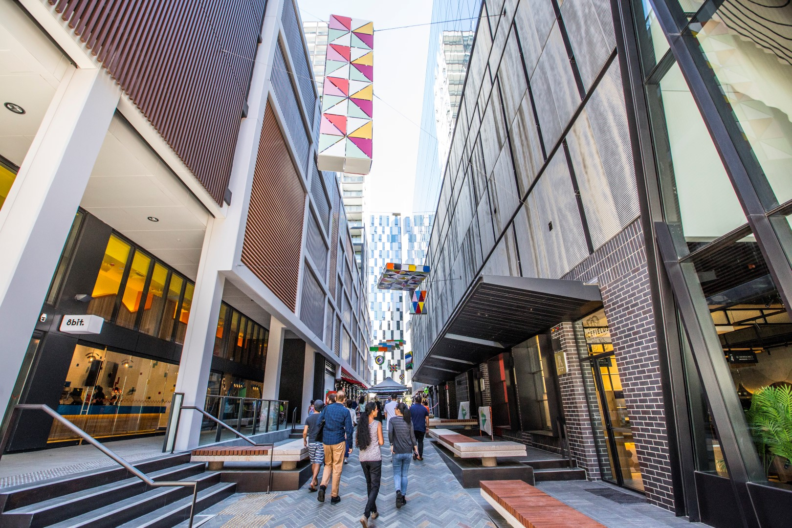 Sydney's largest little laneway, Steam Mill Lane, opens its doors