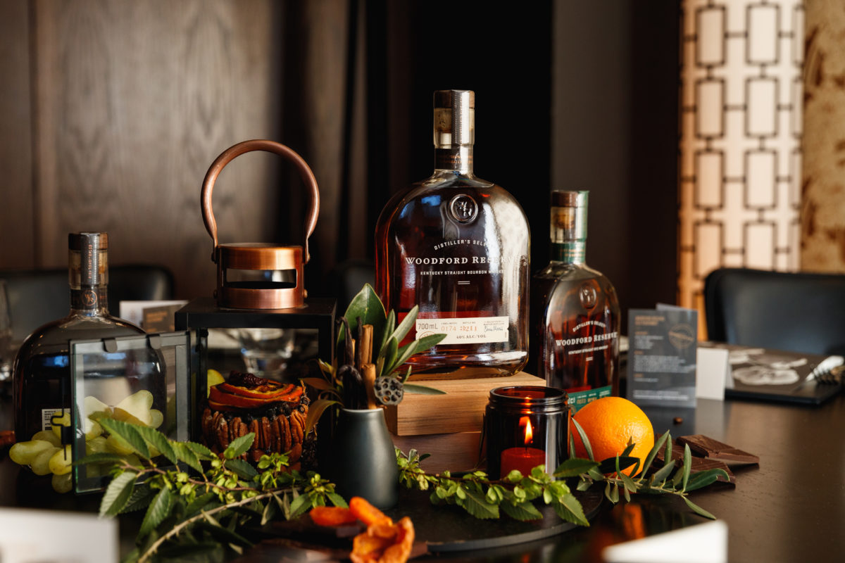 Woodford Reserve's Barrel to Banquet dinner series